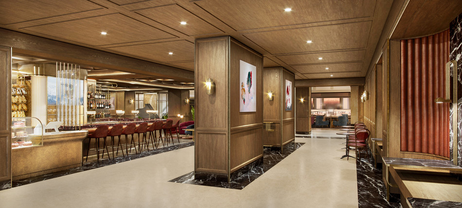 Rendering of REIGN Bakery at Fairmont Royal York (CNW Group/Fairmont Royal York)