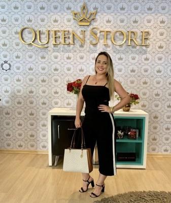 Registro de Natiele Lima na loja Queen Store