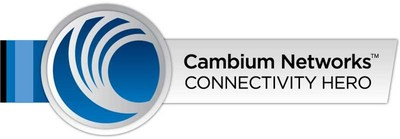 Cambium Networks Connectivity Hero Logo (PRNewsfoto/Cambium Networks)