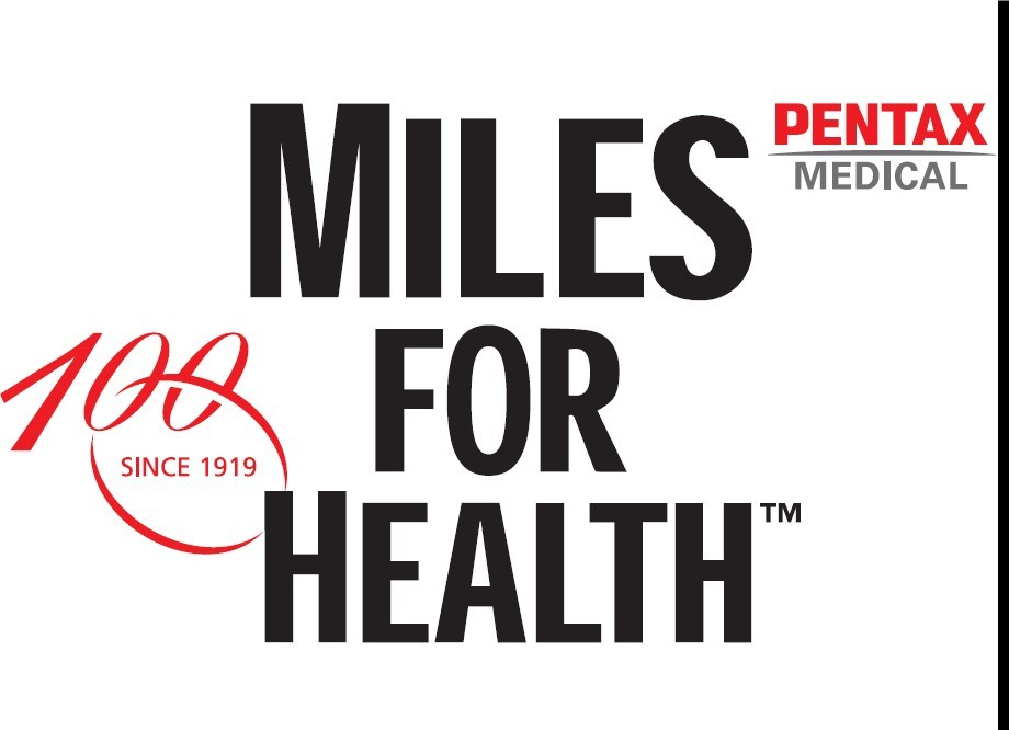 Through its MILES FOR HEALTH(TM) campaign, PENTAX Medical will donate an additional UIS$1 to charity* for every mile covered by anyone who registers. For more info, please visit the MILES FOR HEALTHTM website - www.milesforhealth.com