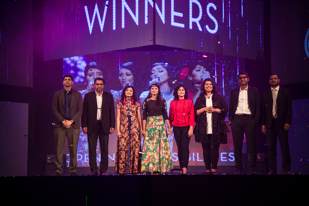 Antora, Moumita, Sheetal and Sunanda Win Sunsilk Divas to