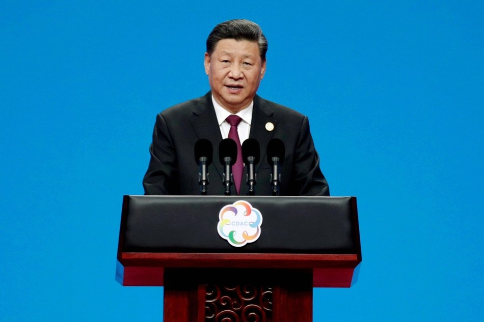 President Xi Jinping delivers the keynote speech at the opening ceremony of the Conference on Dialogue of Asian Civilizations in Beijing on Wednesday. [Photo by Wang Zhuangfei China Daily]