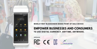 Developed by Pundi X, first blockchain-based wireless Point-of-Sales smart device receives FCC, CE, TRA, and KC certifications