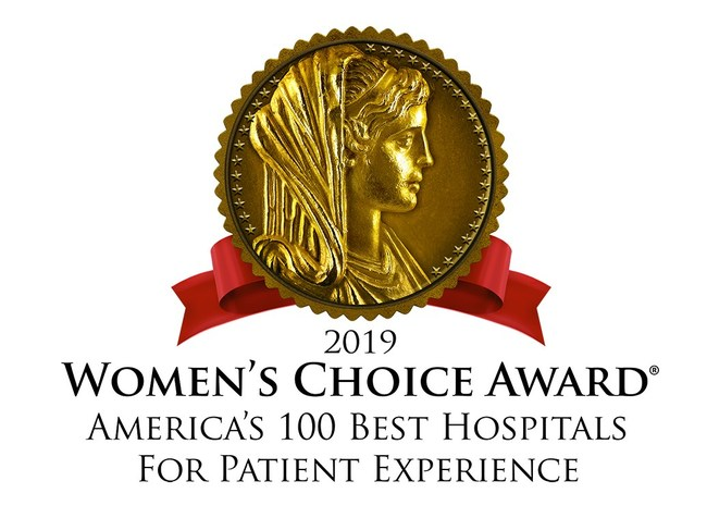 Women's Choice Award for America's 100 Best Hospitals for Patient Experience