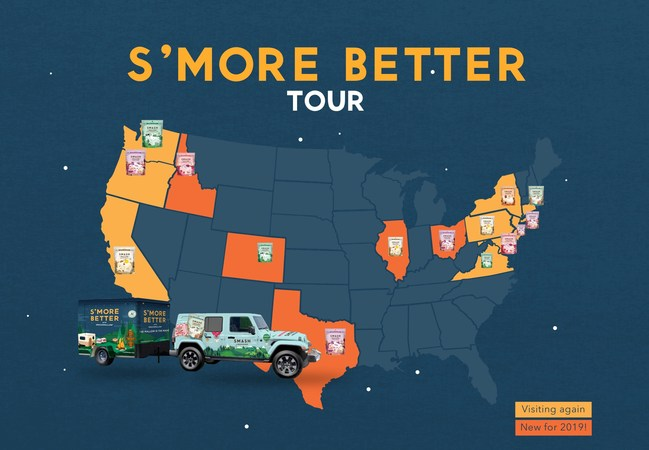 SMASHMALLOW S'more Better Tour Returns to Showcase Premium Mallows From Coast to Coast