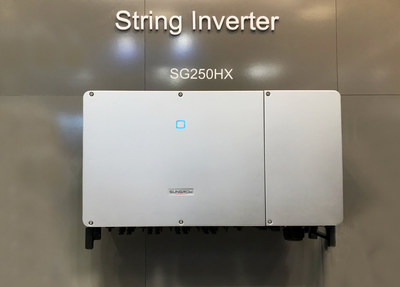 Sungrow 1500Vdc String Inverter SG250HX at Intersolar Europe