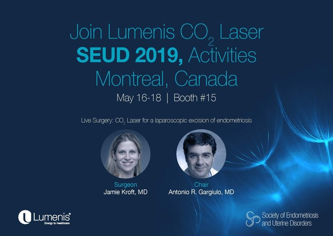 A live surgery event at SEUD 2019 to showcase the use of a CO2 laser with FiberLase Technology to excise endometrial tissue