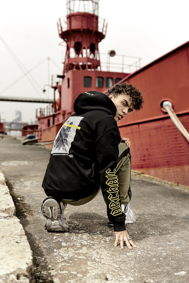 The Black Socrates Sweatshirt from Only The Blind's Archaic Collection