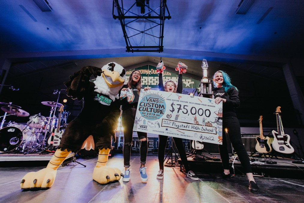 Flagstaff High School From Arizona Takes Top Prize For Vans 2019