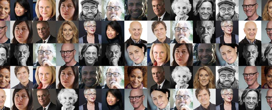 L'Ordre des arts et des lettres du Québec honore dix-sept nouveaux ambassadeurs culturels québécois. (Groupe CNW/Conseil des arts et des lettres du Québec)