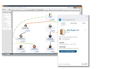 Lucidchart Sales Solution Now Integrates with LinkedIn Sales