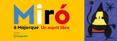 Joan Miró, Peinture, 1978. Huile sur toile, 92 x 73 cm. Fundació Pilar i Joan Miró a Mallorca (FPJM-50) © Successió Miró / SOCAN, Montréal / ADAGP, Paris (2019) (Groupe CNW/Musée national des beaux-arts du Québec)