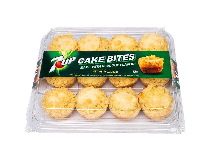 Leading ready-to-eat bakery brand Café Valley® is partnering with celebrated soda brand, 7UP to launch 7UP® Cake Bites.