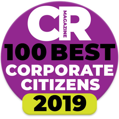 HCP Named to CR Magazine's 100 Best Corporate Citizens List for 2019