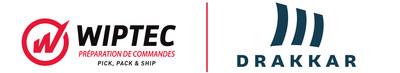 Logo : WIPTEC et DRAKKAR (Groupe CNW/DRAKKAR & ASSOCIES)