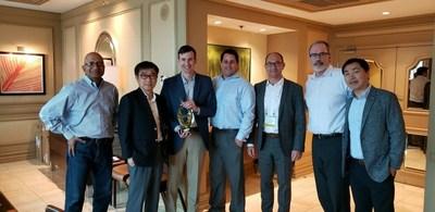 Samsung Electro-Mechanics Presents Digi-Key with 2018 Distribution Partnership Award