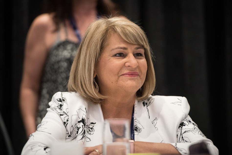 Terri Van Steinburg assumes the role of president of the Federation of Post-Secondary Educators of BC August 1, 2019. (CNW Group/Federation of Post-Secondary Educators of BC)