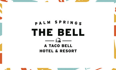 A tacoasis of food, fun and all things Taco Bell awaits fans in Palm Springs this summer as The Bell: A Taco Bell Hotel and Resort opens its doors beginning August 9 for a limited time.