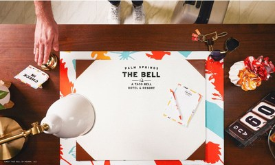From check-in to check-out, The Bell: A Taco Bell Hotel and Resort re-imagines what a hotel stay can be, unveiling a destination inspired by tacos and fueled by fans – making this the flavor-filled getaway of 2019.