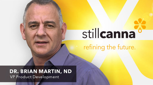 Former President of the College of Naturopathic Physicians of British Columbia Joins StillCanna's Team (CNW Group/StillCanna Inc.)