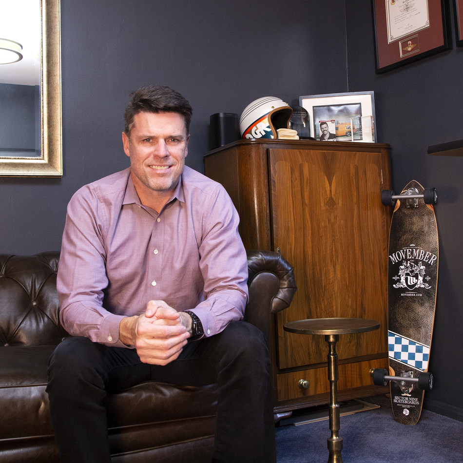 Adam Garone, activist, social entrepreneur, Movember Foundation co-founder, and the new CEO of  Starlight Children's Foundation.