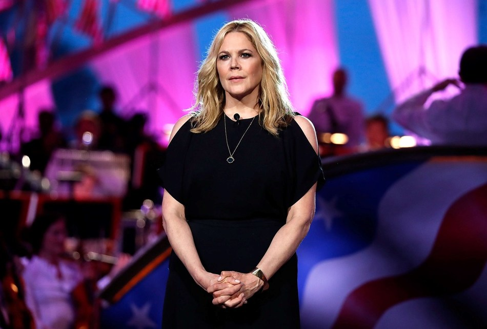 PBS' NATIONAL MEMORIAL DAY CONCERT announced today that Tony-nominated actress and star of TV's THE WEST WING, LOADED and THE KIDS ARE ALRIGHT, Mary McCormack will be joining Tony Award-winner and long-time concert host Joe Mantegna to co-host the multi-award winning live show for its 30th anniversary broadcast, Sunday, May 26th. McCormack is shown performing on the 2018 broadcast of the concert.