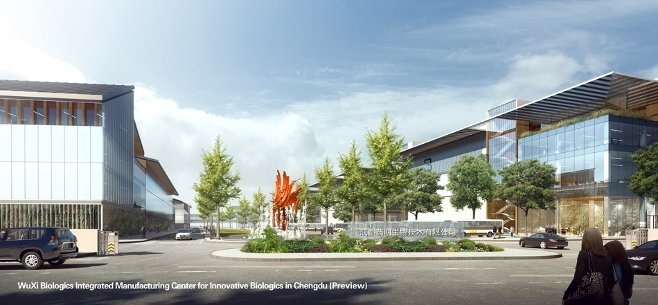 WuXi Biologics Integrated Manufacturing Center for Innovative Biologics in Chengdu (Preview)