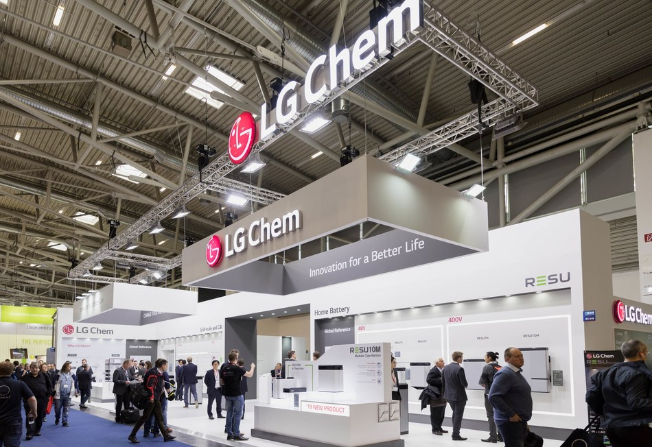 LG Chem at EES Europe 2019