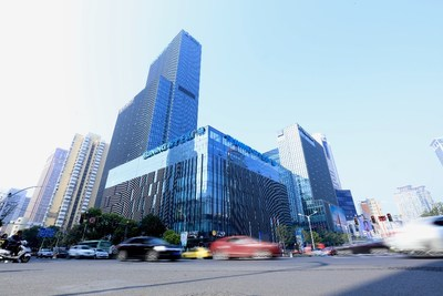 Existing Suning.com Plaza in Nanjing, China