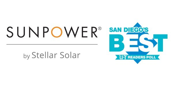 SunPower by Stellar Solar - Voted Best Solar Company in the San Diego Union Tribune Readers Poll