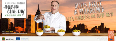 """Have an Olive Day"" campaign comes to Philadelphia with prestigious chef José Andrés"