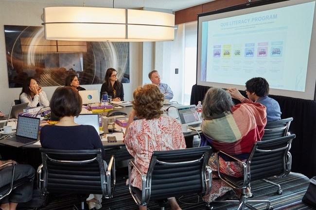 ESL Advisory Board reviews literacy program.