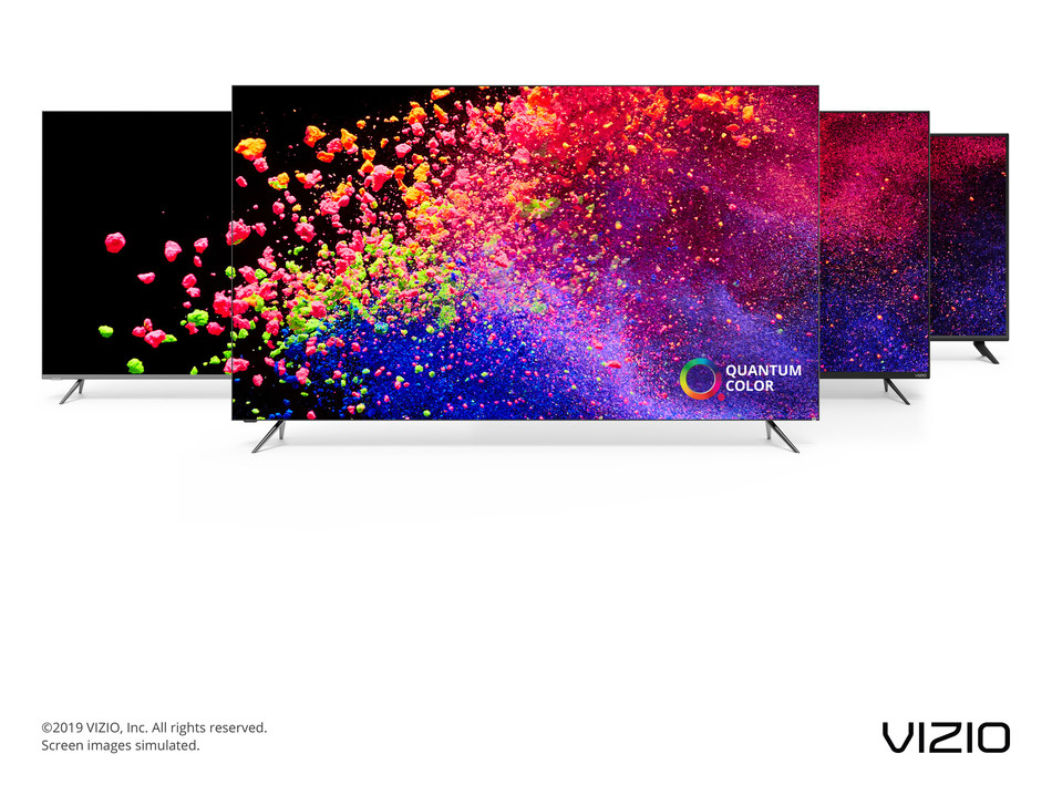 Award-Winning VIZIO 2019 TV Collection Now Available at Retailers Nationwide. Collection Underscored by Flagship P-Series® Quantum X with Quantum Dot Technology, 480 Local Dimming Zones & UltraBright 3000 producing Up to 165% More Color Than a Standard 4K TV.
