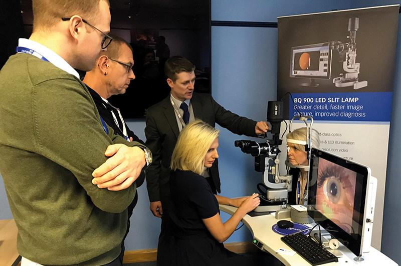 Hands-on workshop at HSA Premier Slit Lamp Imaging Course