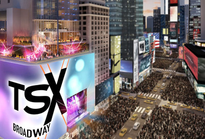 TSX Broadway Mega-Spectacular Display With Built-In Stage in the Heart of Times Square