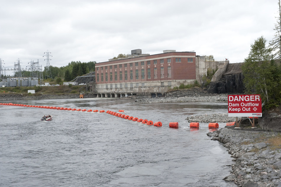 Spring rain and snowmelt mean faster flows on many waterways (CNW Group/Ontario Power Generation Inc.)