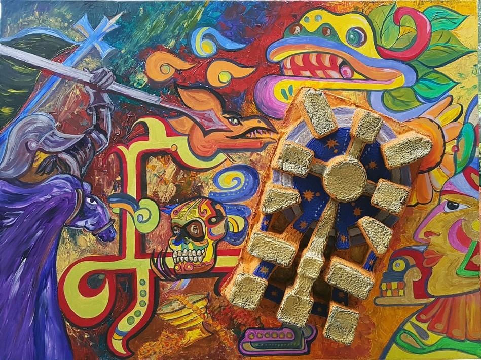 Rencontre avec le peintre et sculpteur César Carrasco, le 24 mai à 15 h 30, à la Galerie 3440. (Groupe CNW/Arrondissement de Montréal-Nord (Ville de Montréal))