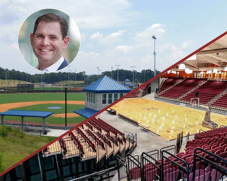 SFM CEO and Founder, Jason Clement with indoor and outdoor SFM Managed Facilities.