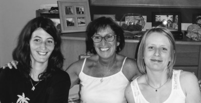 Jessica Mairesse, Ghislaine De Claremont and Melissa Mairesse