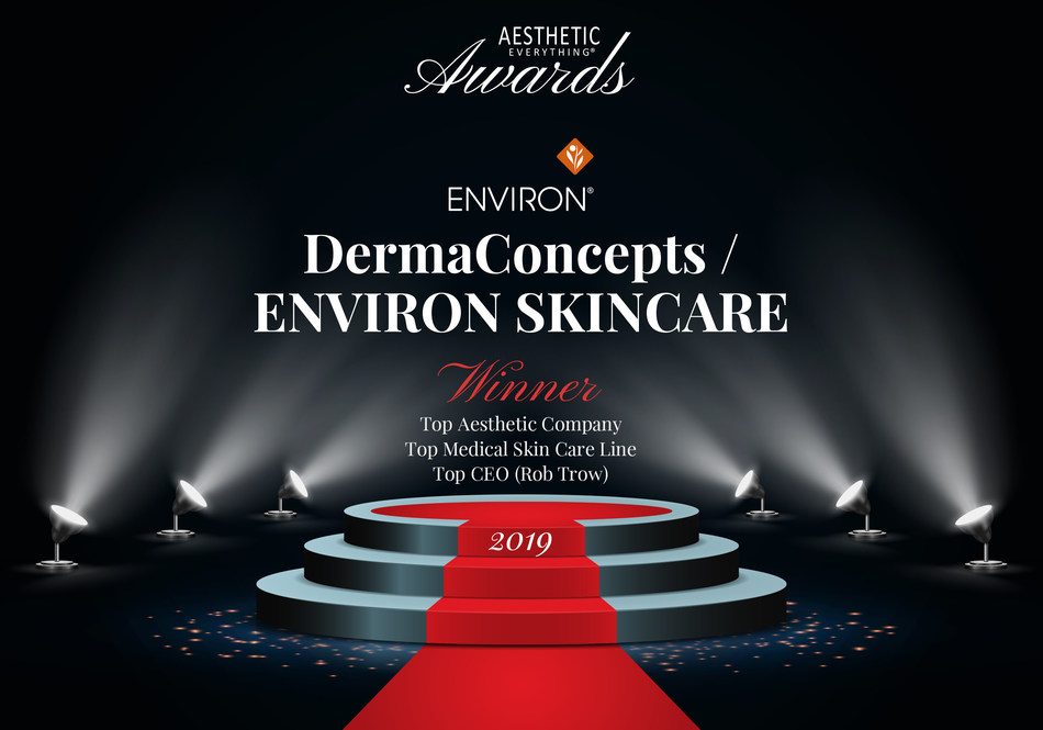 "Environ® Skin Care Receives 2019 ""Top Medical Skin Care"" Aesthetic Everything® Aesthetic and Cosmetic Medicine Award"