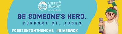 Certent Gives Back to St. Jude Children's Hospital at 8th Annual Equity Summit