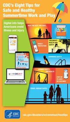 Ocho recomendaciones de los CDC para trabajar y divertirse en el verano de manera segura y sana