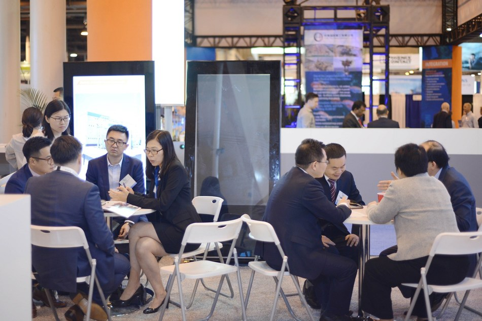 Honghua Group participates in the 2019 OTC with world's first all-electric shale gas solution
