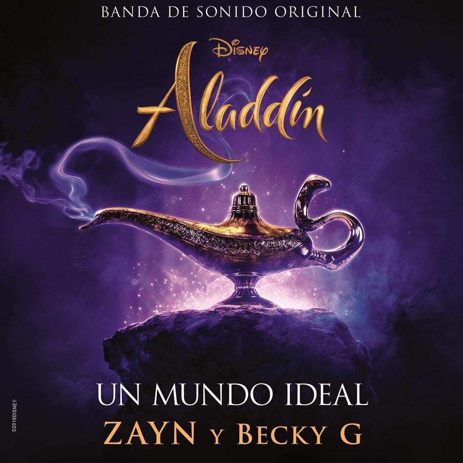 """""""Un Mundo Ideal"""" ZAYN y Becky G cover art"""