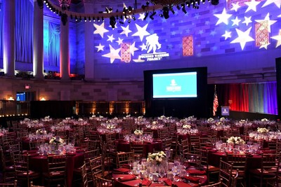 Hundreds of patriotic people gathered to honor and empower wounded warriors at Wounded Warrior Project's Courage Awards & Benefit Dinner