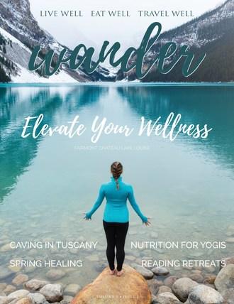 Wander Wellness Travel Magazine Spring 2019 (CNW Group/Wander Magazine)