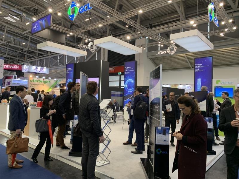 GCL System participó en la Intersolar Europe 2019 que se celebró en Múnich el 15 de mayo. (PRNewsfoto/GCL System)