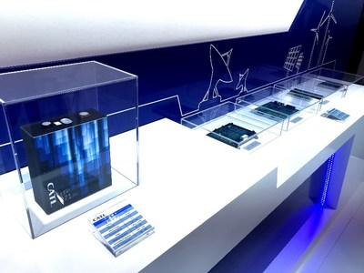 CATL's ESS solutions display at booth B1.180, ees Europe 2019