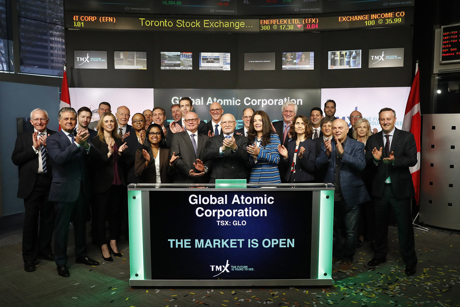 Global Atomic Corporation Opens the Market (CNW Group/TMX Group Limited)