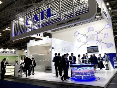 CATL's ESS Solutions and LFP Technology Take Centre Stage at ees Europe 2019